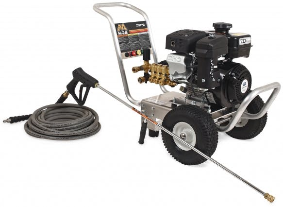 Cold Water 2500 psi Pressure Washer