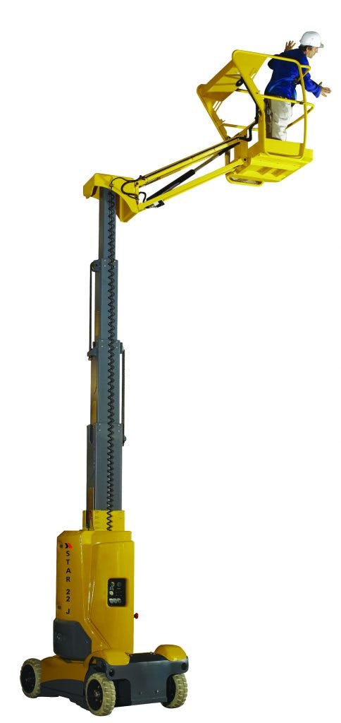 Star 25' Telescopic Lift w/ Jib 0