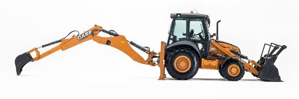 Case 580SN Backhoe 1