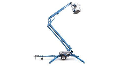 Genie 50' Telescopic/Knuckle Boom Lift 0