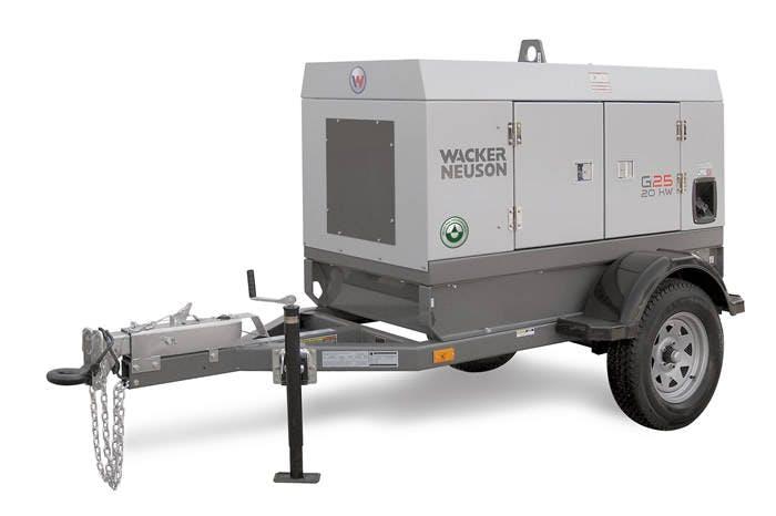 Wacker Neuson 20K Generator 0