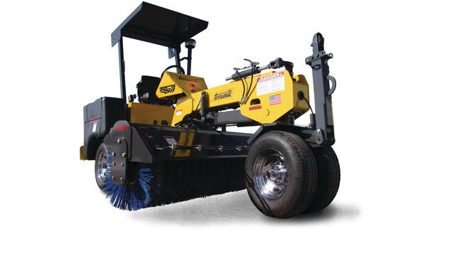 Terramite 8' Diesel Ride on Sweeper 0