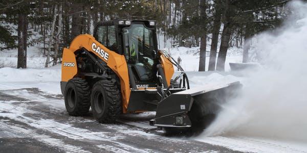 snow sidewalk removal equipment