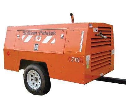 210 CFM Diesel Compressor 0