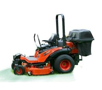 "Kubota Zero Turn Mower 60"" 0"