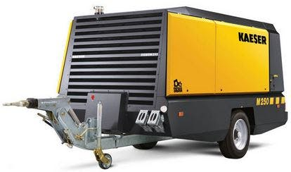 900 CFM Diesel Compressor 0